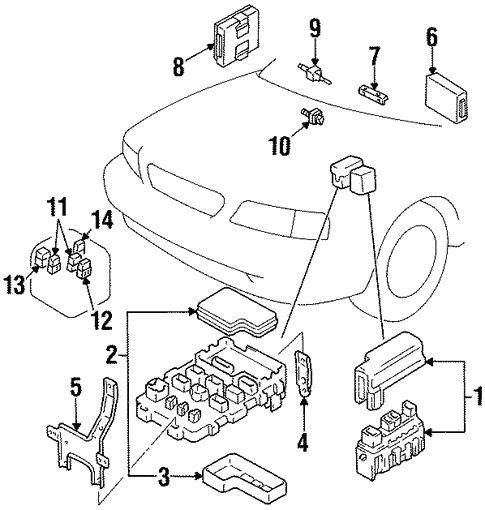 Fuel System Components For 1997 Suzuki Esteem