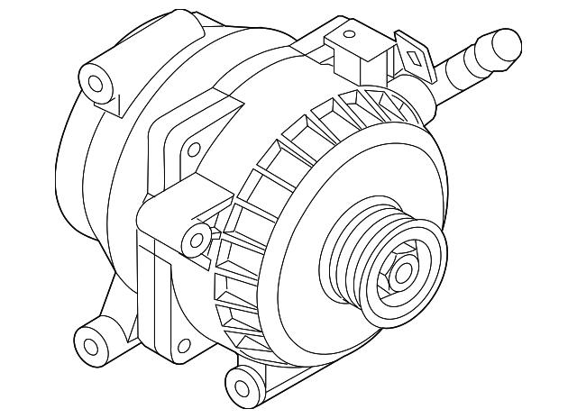 2014 2016 Kia Optima Alternator 37390 2g920