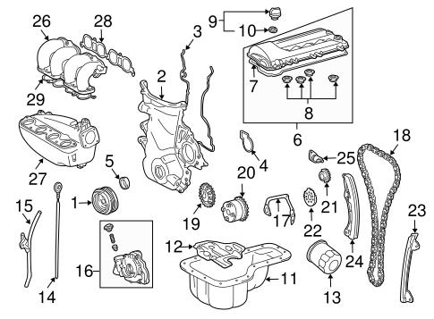 oem 2006 pontiac vibe engine parts parts gmpartsonline net Pontiac Grand AM Parts Diagram engine engine parts for 2006 pontiac vibe