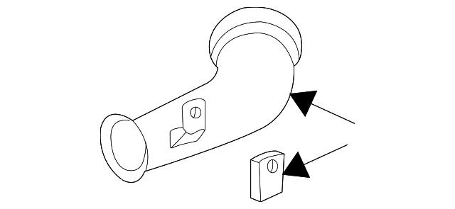 2001 2007 toyota highlander inlet tube 17750 20090 toyota of simi 2003 Toyota Tacoma Diagram inlet tube toyota 17750 20090