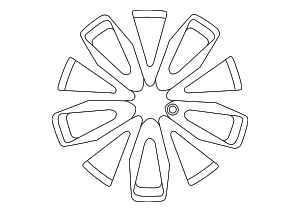 Wheel, Alloy - Nissan (40300-9DJ4A)