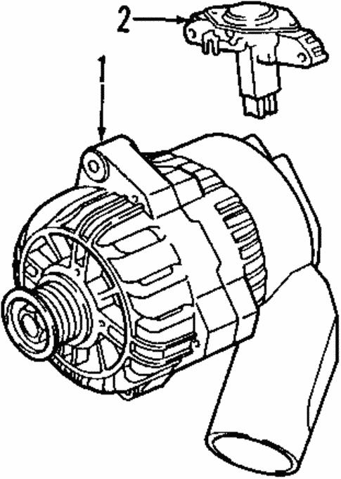 Alternator For 1998 Bmw 750il