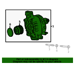 Alternator - Toyota (27060-25010)