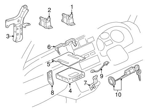 Ignition System For 2000 Toyota Rav4