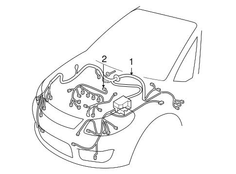 Wiring Harness For 2011 Suzuki Sx4