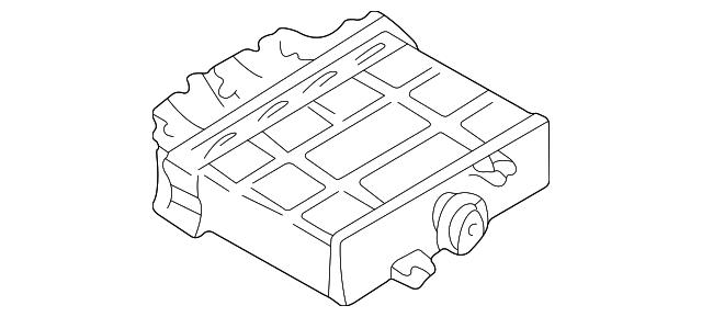 2003 2004 Volkswagen Jetta Control Box 01m 927 733 Mg