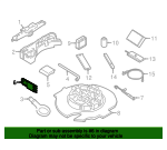 Wheel Stop - Land-Rover (LR081519)