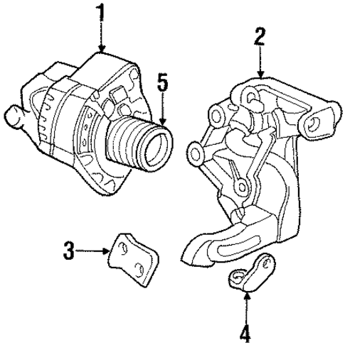 Alternator (RMD) Core ID 9761219-584 100211-8750