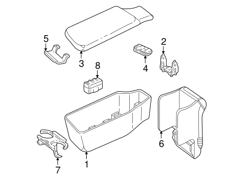front seat components parts for 2000 buick park avenue. Black Bedroom Furniture Sets. Home Design Ideas
