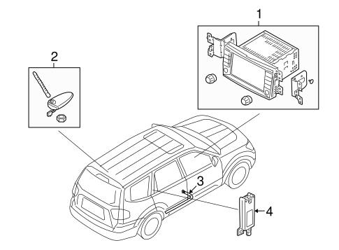 09 Kia Borrego Brake Wiring Diagram