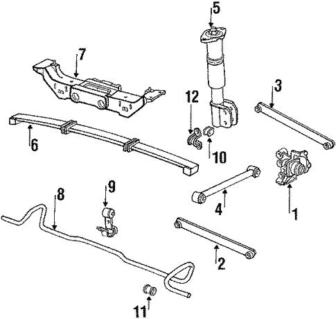 1994 oldsmobile 3 8 engine diagram rear suspension for 1995 oldsmobile cutlass supreme gmpartonline  1995 oldsmobile cutlass supreme