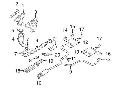 exhaust manifold for 2004 nissan altima #0