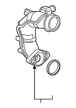 Pipe Assembly, Turbocharger In Joint