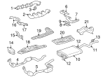 Exhaust Manifold - Mercedes-Benz (113-140-04-09)