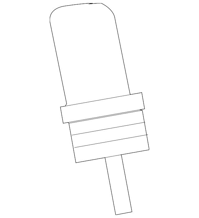 1993 2017 Mitsubishi Coolant Temp Sensor Md177572