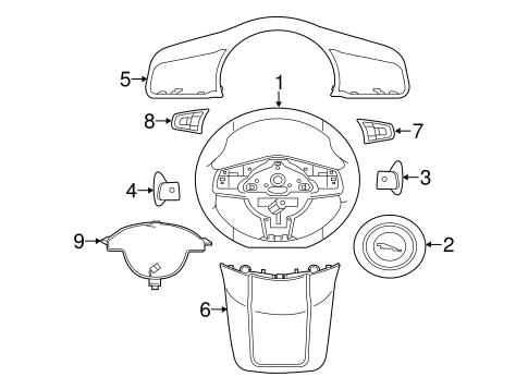Steering Wheel Trim For 2017 Jaguar F Type