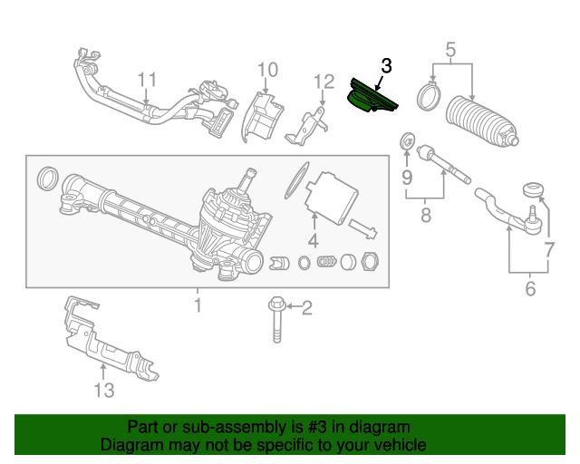 Boch Honda West >> Grommet, Steering - Honda (53502-TR0-A00)