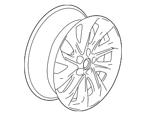 Wheel, Alloy - GM (84193511)