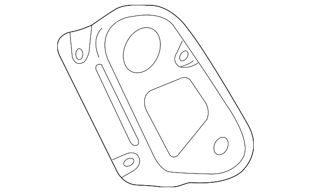 2007 2009 Toyota Camry Backup Lamp Gasket 81594 33120