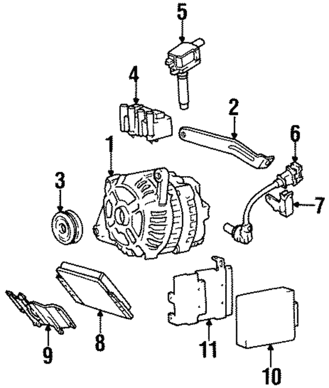 Alternator - Hyundai (37300-22200)