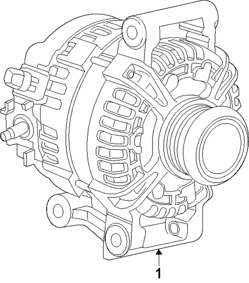 Alternator For 2019 Gmc Terrain