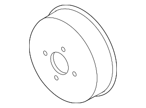 Engine Water Pump Pulley - Ford (AC3Z-8509-CA)