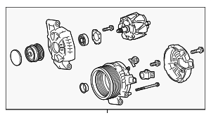 Alternator - Toyota (27060-0T480)