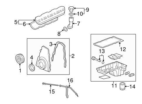 engine parts for 2013 chevrolet silverado 1500 2005 chevy silverado 1500 parts diagram #15