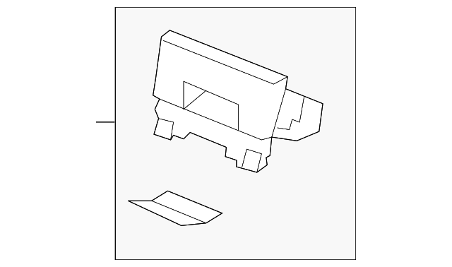 Genuine Hyundai 84750-3J200-WK Console Pad Panel Assembly