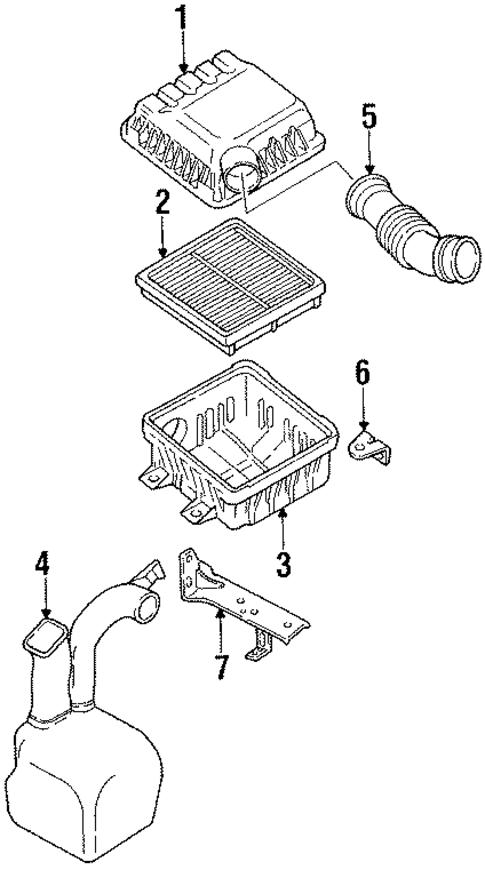 subaru replacement air filters