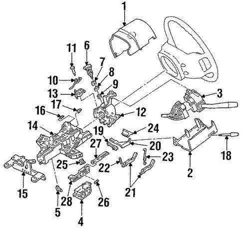 steering column for 1994 ford aerostar 1994 ford explorer engine diagram