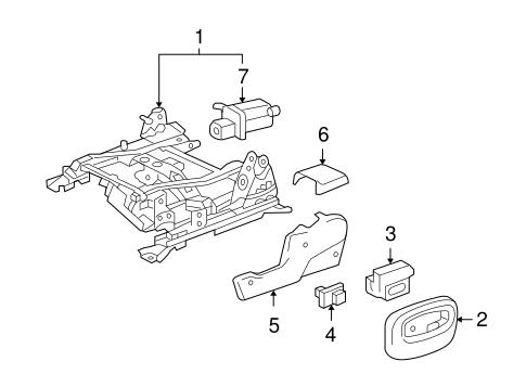 Lumbar Control Seats Scat on Buick Rainier Seats