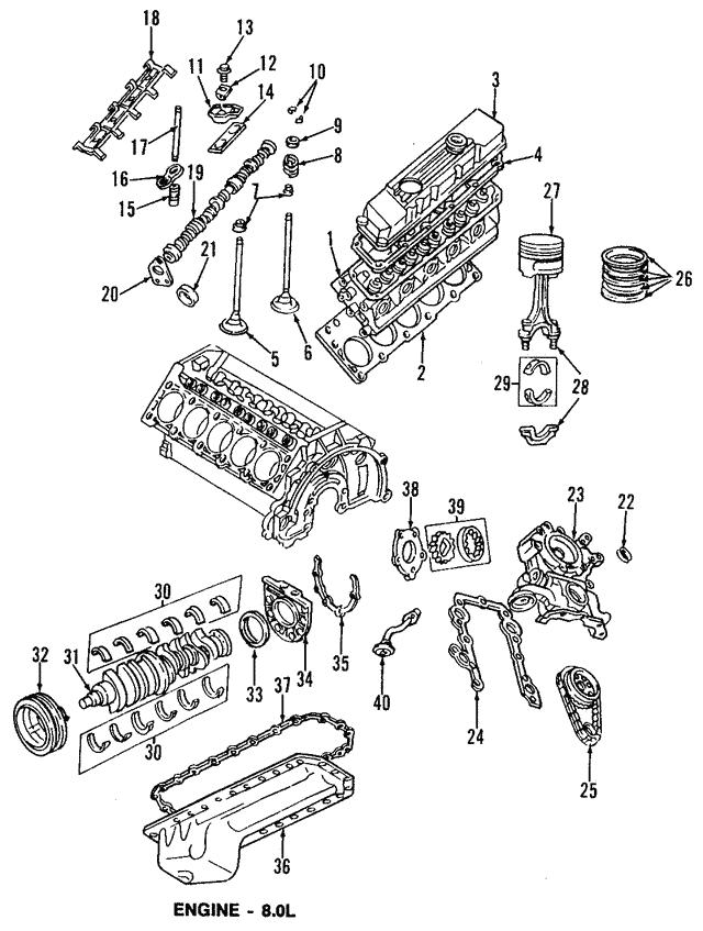 1994 2003 Dodge Piston 68067512aa