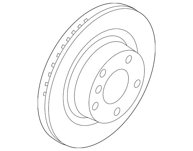 2012 2018 Bmw Rotor 34 20 6 797 607