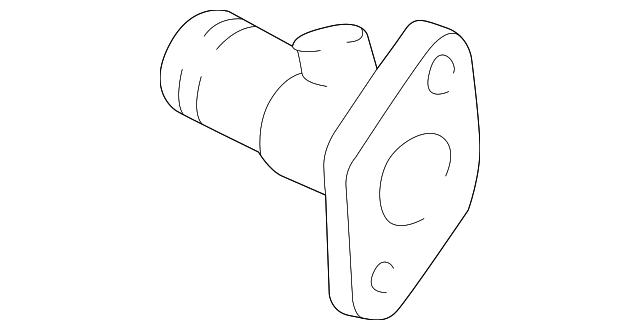 Toyota 16341-75020 Engine Coolant Outlet Gasket