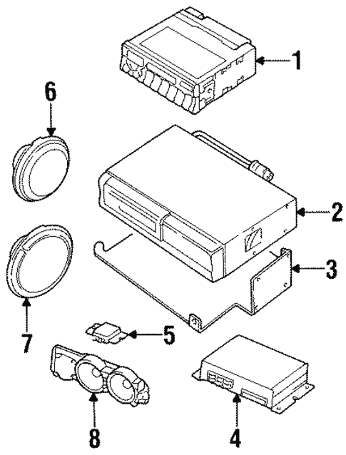 sound system for 1998 land rover discovery land rover parts direct 2001 Land Rover Discovery Diagram sound system for 1998 land rover discovery
