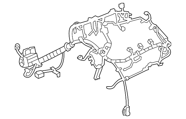 drawing engine harness