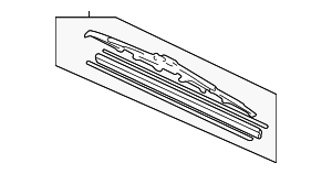 Blade, Windshield Wiper (525MM) - Honda (76630-SZA-A01)