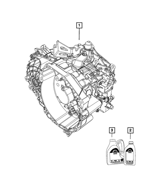 Manual Transaxle for 2015 Jeep Renegade #0