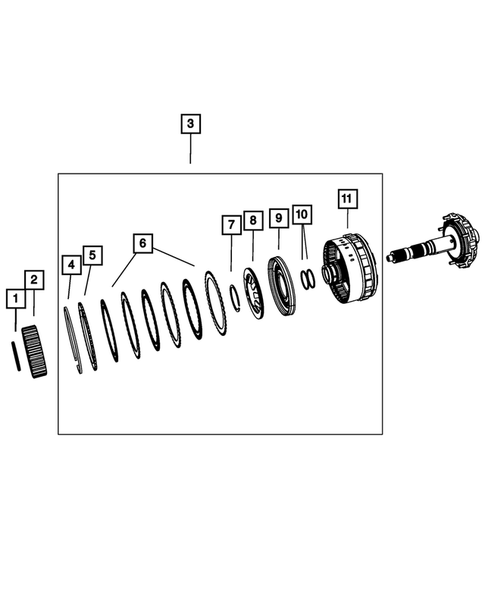 Gear Train for 2016 Dodge Journey #0