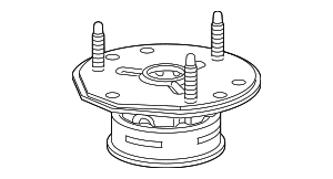 Strut Mount - GM (23312166)