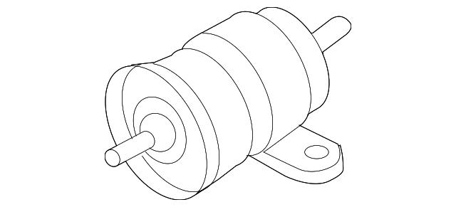 1995 2006 Audi Fuel Filter 1h0 201 511 A