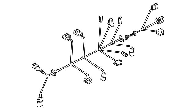 volkswagen wire harness  7l6