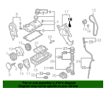 Inner Timing Cover Plug - Volkswagen (038-971-904)