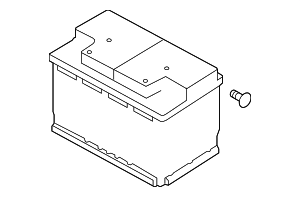 2018 volkswagen gti battery 5k0 915 105 g vw part world. Black Bedroom Furniture Sets. Home Design Ideas