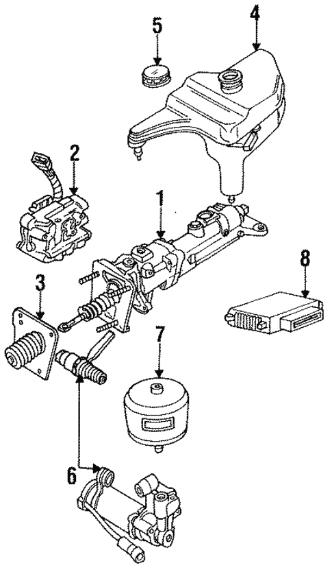 1990 Ford Thunderbird Engine Diagram