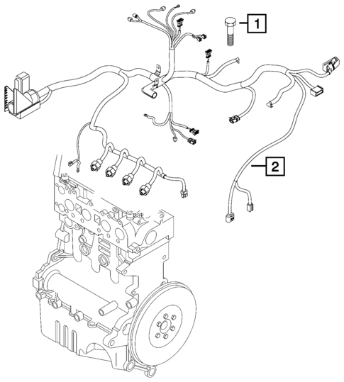 Wiring Powertrain For 2018 Jeep Compass