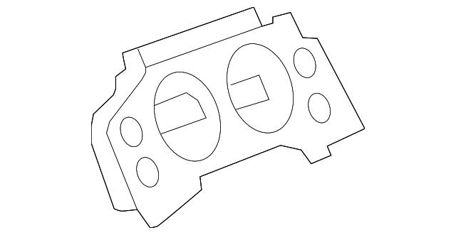 instrument cluster 25942800