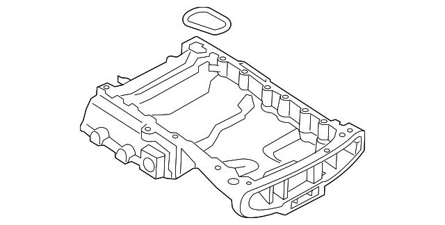 Hyundai 21522-3C100 Engine Oil Pan Gasket