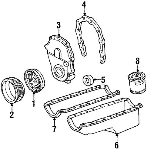 Oem 1999 Chevrolet Suburban K2500 Engine Parts Parts
